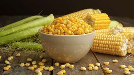 Simpatias com milho