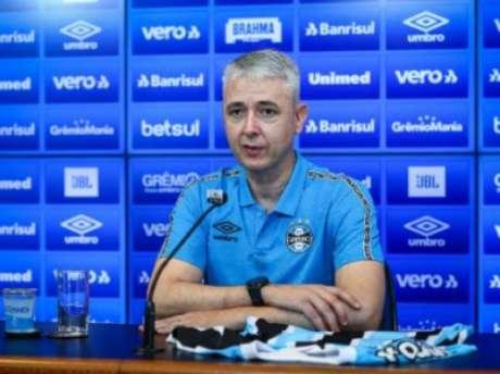 Treinador conquista primeira taça no retorno ao clube (Lucas Uebel/Grêmio FBPA)