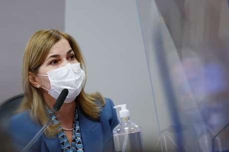 Secretária de Gestão do Trabalho do Ministério da Saúde, Mayra Pinheiro 25/05/2021 REUTERS/Adriano Machado