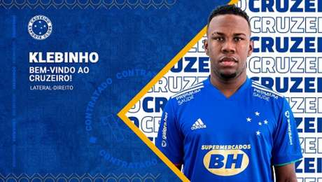 Klebinho fez sua formação na base no time carioca-(Divulgação/Cruzeiro)