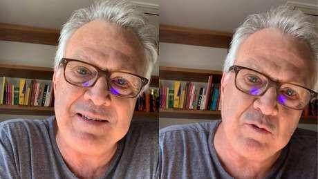 Vídeo foi publicado nas no Instagram do apresentador nesta terça-feira (25)