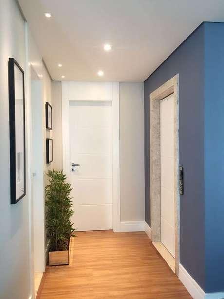 3. Rodape de gesso para casa moderna Foto Ecoville Portas e Janelas
