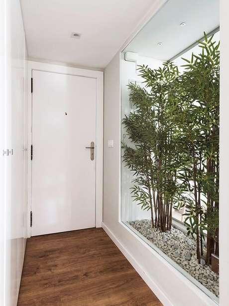 1. Rodapé de gesso na casa moderna – Foto Micasa Revista