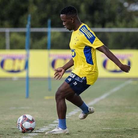 Klebinho fez sua formação na base no Flamengo e veio por empréstimo para o Cruzeiro até o do ano-(Gustavo Aleixo/Cruzeiro)