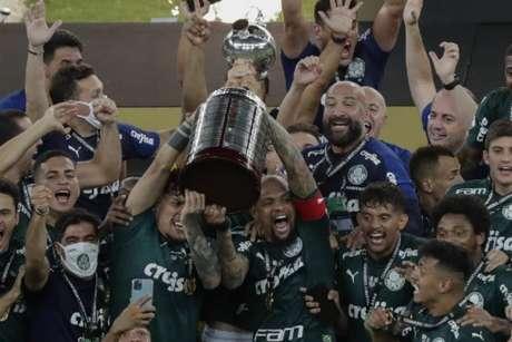 O Palmeiras é o atual campeão da Libertadores, após derrotar o Santos na final no Maracanã (Silvia Izquierdo / POOL / AFP)