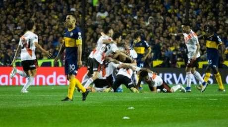 River Plate e Boca Juniors decidiram a Libertadores de 2018. Melhor para o River, campeão após vitória por 3 a 1 (Foto: Getty Images)