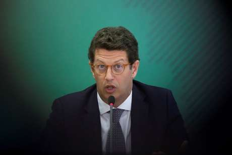 Ministro do Meio Ambiente, Ricardo Salles 22/04/2021 REUTERS/Ueslei Marcelino