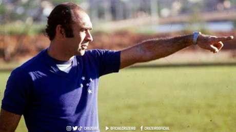 Ilton Chaves esteve à frente do Cruzeiro em 389 partidas e também foi campeão pelo Galo-(Divulgação/Cruzeiro)