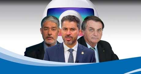 O senador Marcos Rogério tem aparecido com frequência no 'JN' de William Bonner por suas falas em defesa do governo Bolsonaro na CPI