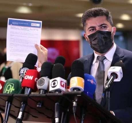 Persuasivo, Marcos Rogério se tornou um dos parlamentares mais procurados pelas equipes de TV em Brasília
