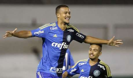 Gabriel Barbosa em ação pelo Palmeiras (Foto: Fabio Menotti/Ag. Palmeiras)