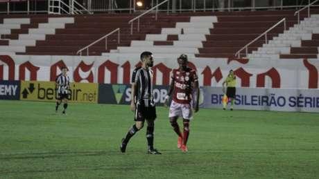 Vila Nova e Botafogo empataram na estreia da Série B (Foto: Douglas Monteiro / Vila Nova F.C.)