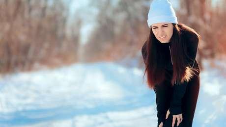 O frio intensifica as dores