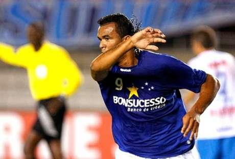 Zé Carlos pelo Cruzeiro, em 2009(Divulgação: Cruzeiro)