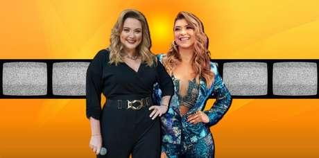 MariangelaZane AmandaFrançozocomandam programas com boa audiência na TV Aparecida