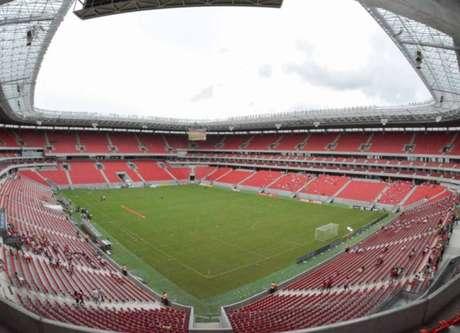 Arena Pernambuco, em Recife, era cotada para receber jogos da Copa América (Foto: Lino Sultanum/LANCE!Press)