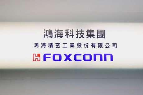 Logo da Foxconn em Taipé, Taiwan  12/11/2020 REUTERS/Ann Wang