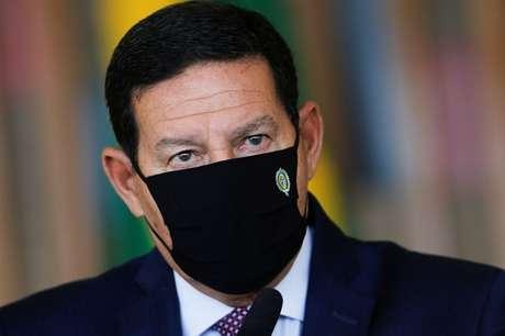 Vice-presidente Hamilton Mourão em Brasília 15/07/2020 REUTERS/Adriano Machado