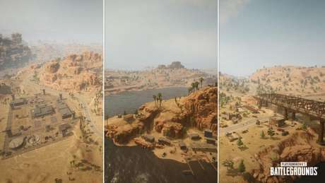 Mapa Miramar resmasterizado em PUBG