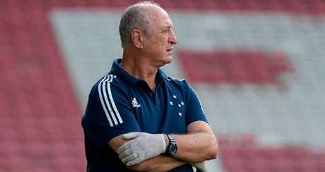 A segunda passagem de Felipão no Cruzeiro teve atritos entre ele e a diretoria celeste-(Divulgação/Cruzeiro)