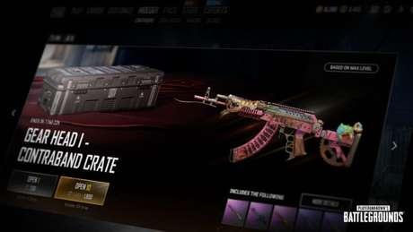 Sistema de Aprimoramento de Visual de Arma de PUBG