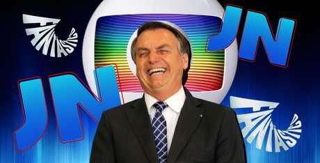 """""""Não vejo a Globo, tá ok?"""": o presidente adoraria ter assistido à cobertura dos protestos contra ele no canal do clã Marinho"""