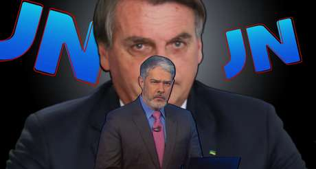 Poupado no sábado, Bolsonaro ficou novamente na mira de Bonner no 'JN' de segunda
