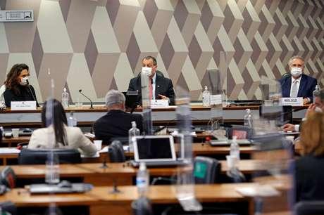 Reunião da CPI da Covid no Senado REUTERS/Adriano Machado