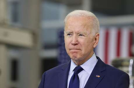 Presidente dos Estados Unidos, Joe Biden, em Cleveland, Ohio, EUA 27/05/2021 REUTERS/Evelyn Hockstein