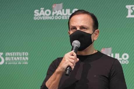 Doria critica fala de Bolsonaro sobre uso de máscara