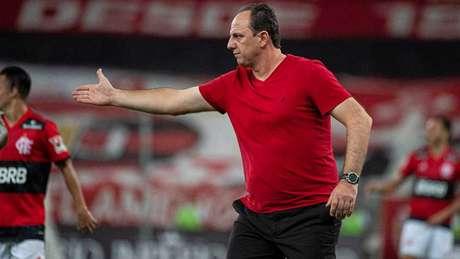 Auxiliares de Rogério Ceni testaram positivo para covid (Foto: Alexandre Vidal/Flamengo)