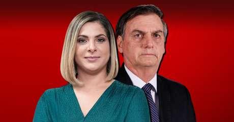Diante das câmeras, Daniela Lima não esconde desaprovação a falas e atitudes do presidente Bolsonaro