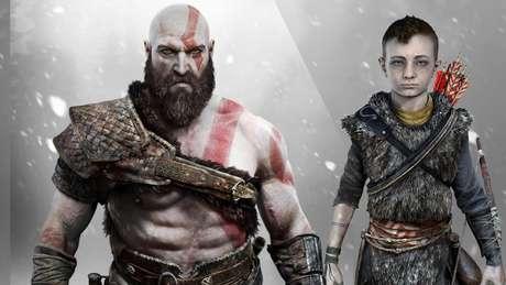 God of War - Kratos e Atreus