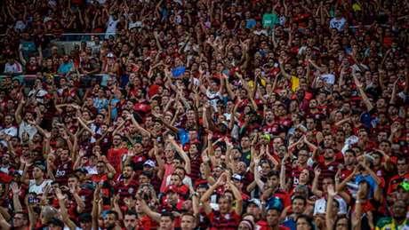 Nação cumpre seu papel também nas redes sociais do Flamengo (Foto: Paula Reis/Flamengo)