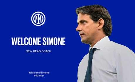 Simone Inzaghi assume o comando da Inter de Milão (Divulgação/Inter)