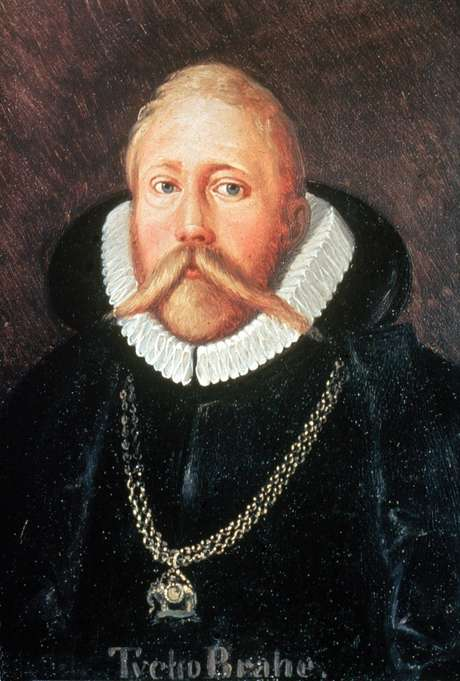 Tycho Brahe. Note que rolou um photoshopzinho pra ocultar a prótese do nariz