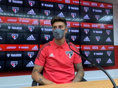 Rigoni está regularizado para fazer sua estreia pelo São Paulo (Foto: Divulgação/São Paulo FC)