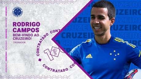 A missão de Rodrigo Campos é evitar o rebaixamento das meninas da Raposa  no Brasileiro Série A1-(Divulgação/Cruzeiro)