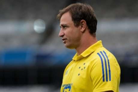 Felipe Conceição gostou do que viu em campo, mesmo com um placar magro sobre o Juazeirense no Mineirão-(Gustavo Aleixo/Cruzeiro)