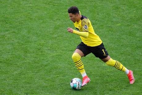 Sancho é um dos principais destaques do Borussia Dortmund (Foto: FRIEDEMANN VOGEL / AFP / POOL)