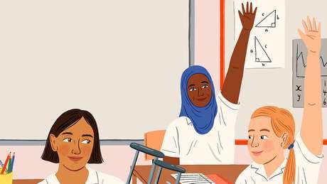 As meninas seguem em desvantagem no nível primário: em todo o mundo, há 5,5 milhões a mais de meninas do que de meninos desta idade fora da escola, segundo a Unicef
