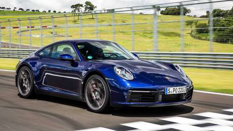 Porsche 911: esportivo no top 5 de vendas entre importados.