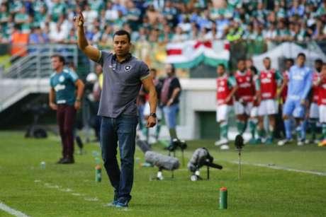 Jair Ventura tem quatro jogos e quatro derrotas no Allianz Parque (Foto: Marco Galvão Agência Lancepress!)