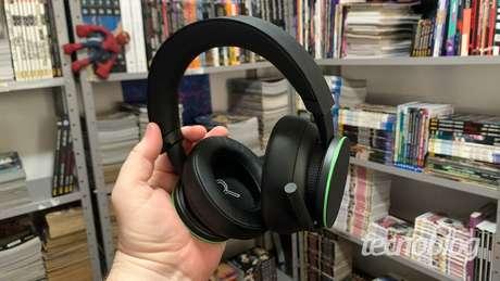 Detalhe do Headset Sem Fio Xbox