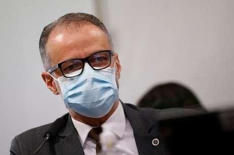 Antônio Barra Torres, presidente da Anvisa REUTERS/Adriano Machado