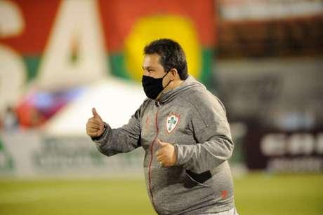 Formado nas categorias de base da Lusa, Marchiori quer recolocar a equipe na elite (Foto: Dorival Rosa/Portuguesa)