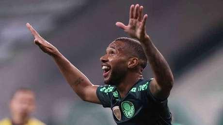 Wesley foi o homem do jogo em noite inspirada no Allianz Parque (Cesar Greco/Palmeiras)