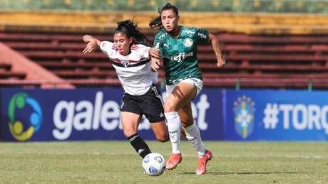 Choque-Rainha foi marcado também por grande equilíbrio dois lados (Foto: Fábio Menotti/Palmeiras)