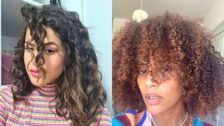 Maisa e Taís Araújo adoram compartilham fotos dos cachos naturais nas redes sociais.