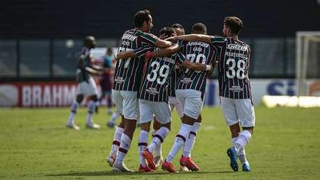 Fluminense venceu o Cuiabá pela segunda rodada do Brasileirão (Foto: LUCAS MERÇON / FLUMINENSE F.C)